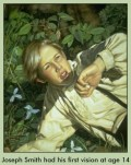 The Mormon Prophet Joseph Smith's First Vision;The Fear of Sharing Something Spiritual