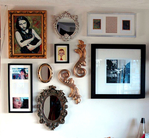 Wall decor can take many shapes and forms.