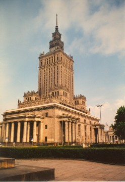 Warsaw's Soviet-era colossus: The Palace of Culture and Science in the city's center.