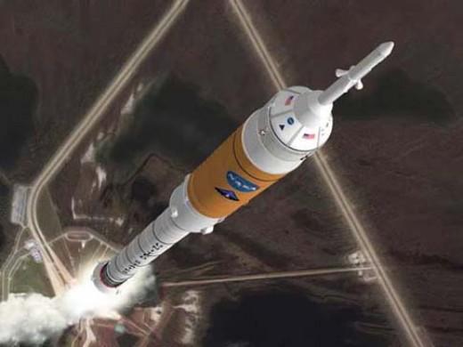 A Constellation Program Launch Concept