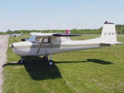 Cessna 150 - an example of the aircraft consumed by Michel Lotito.