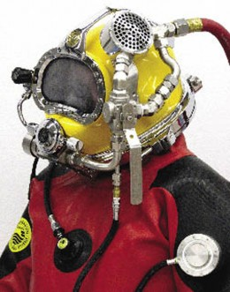 NASA space suit research help protect deep sea divers.