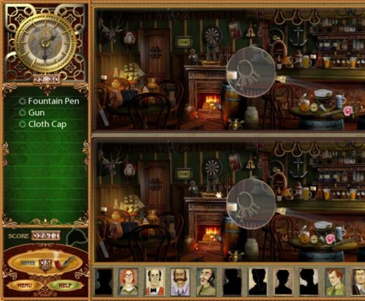 Sherlock Holmes Mystery Game