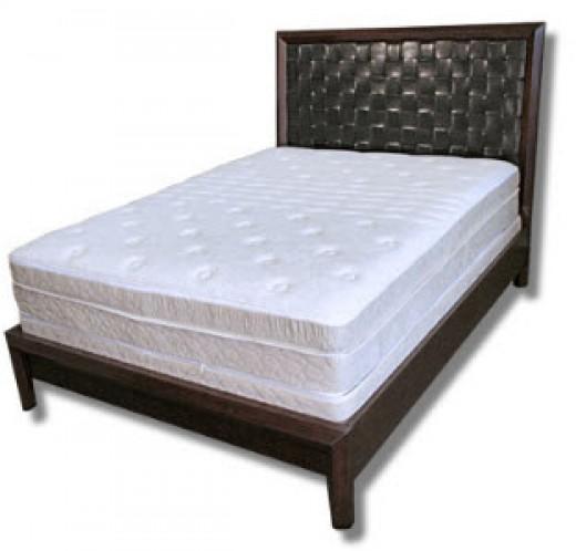A modern classic: a high-density memory foam mattress