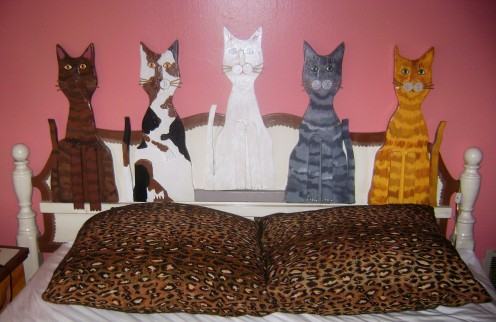 When I look at this, is see a cat fence!