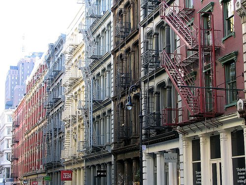 SoHo Buildings, Professor Bop on Flickr
