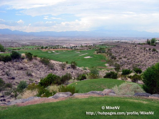 Picture of the Rio Secco Golf Course in Las Vegas I am using this as an example of how to use a Picture to evoke an emotional connection with your visitors.
