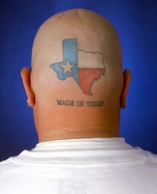This is a common sight in Texas. Beware.