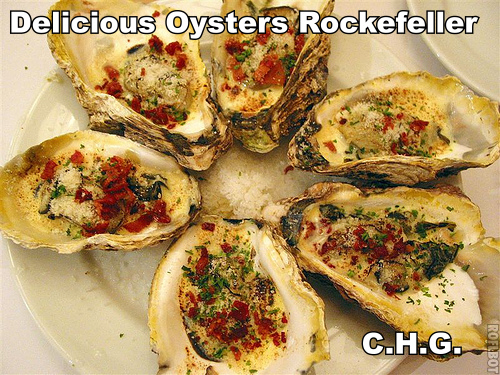 Oysters Rockefeller has always been one of my favorite things ever. Have you ever had it? If not what are you waiting on.