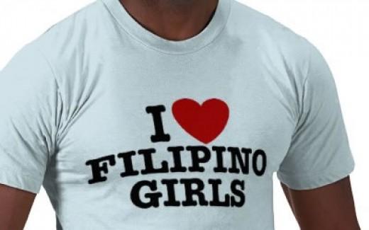 I love Filipino girls: the t-shirt!
