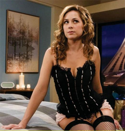 Jenna fischer lingerie video