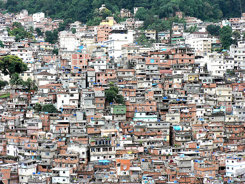Slums in Brazil.  How much more can we take?      photo by crystal davis WRI 2007