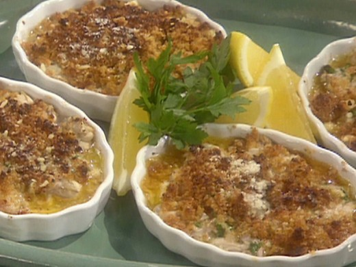 Delicious Baked Oysters