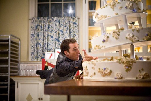 Connor Mead and the wedding cake scene