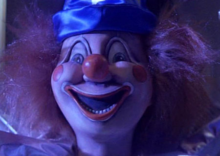 Poltergeist's scary clown