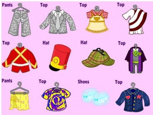 You can see the possible items you can get from the Webkinz Clothing Machine