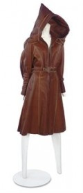 vintage 1930s hooded motoring coat  by the swelle life on flickr