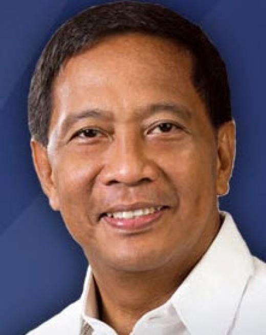 "Makati City Mayor Jejomar ""Jojo"" Binay"