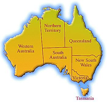 """""""The Land Down Under"""" is also the land of contrasts..."""