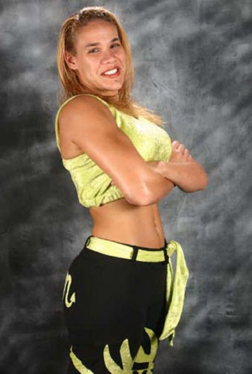 Indy female wrestler, Mercedes Martinez