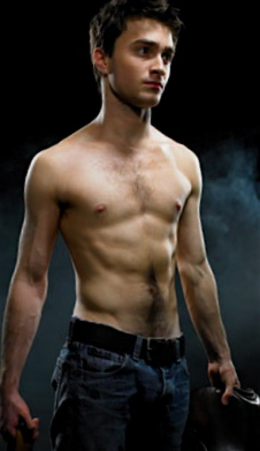"Daniel Radcliffe as Alan Strong in ""Equus""."