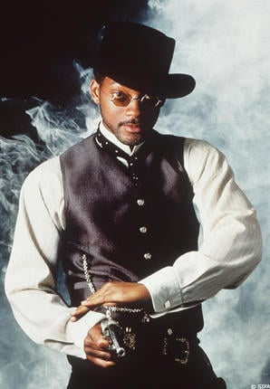 Will Smith in Wild Wild West. A great Western steampunk look.