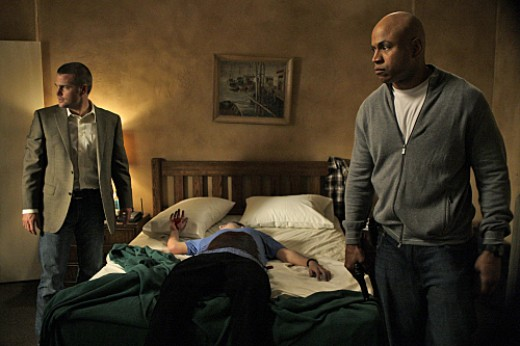 Chris O'Donnell and LL Cool J in NCIS Los Angeles