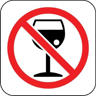 "Don't ""drink down"" your food. Drink after the meal."