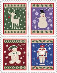 2009 Christmas stamps