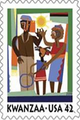 2009 Kwanzaa stamp