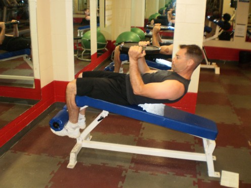 The weighted crunch start position