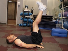The Hip Thrust start position