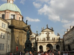 Prague's public transport system is excellent. You can use a cheap travel card covering all bus, metro and tram services. However pickpockets operate throughout the day, particularly in crowded areas like public transport, the Charles Bridge and the