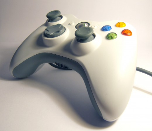 XBox 360 Controller.  (Photo by Stephen Davies)