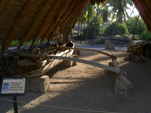 You can also learn about other Hawaiian customs such as canoe carving.