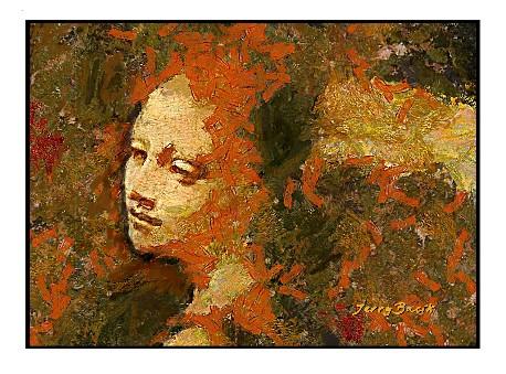 Da Vinci's Angel by Jerry Bacik