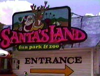 Santa's Land Amusement Park Cherokee N.C.