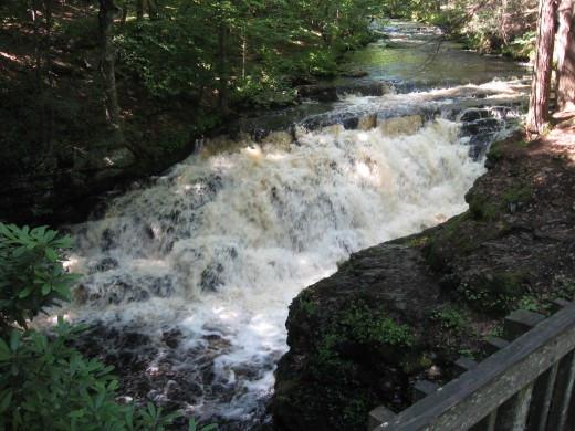 Pennell Falls (8 feet)