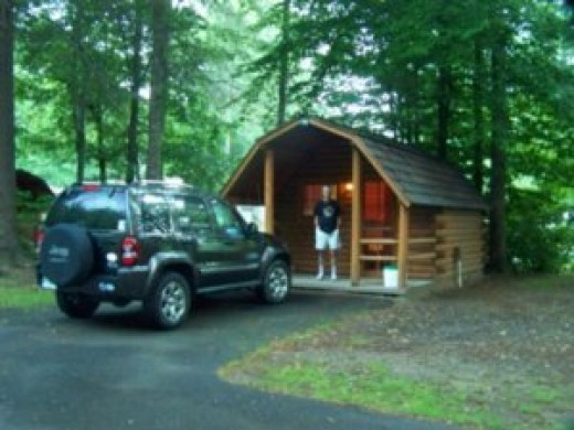 Little Cabin At KOA Campground