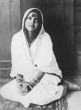 A beautiful pic of Maa Anandamayi