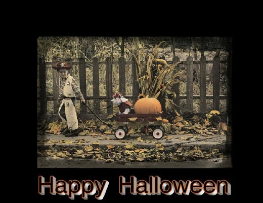 Halloween lil boy