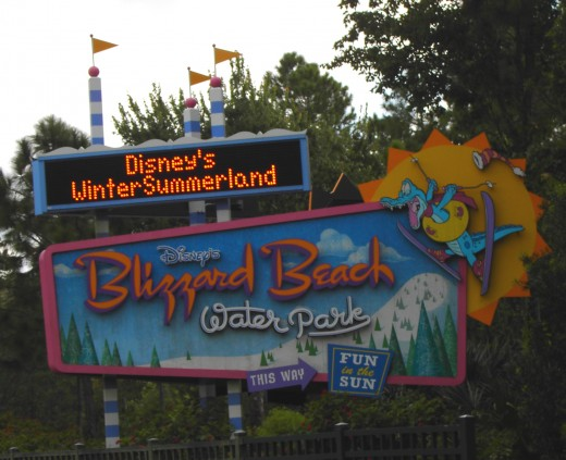 Welcome to Christmas creep - er, I mean Blizzard Beach!
