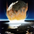 Prehistoric Asteroid-Collision on Earth