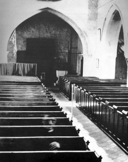 The Famous St. Mary's Ghost