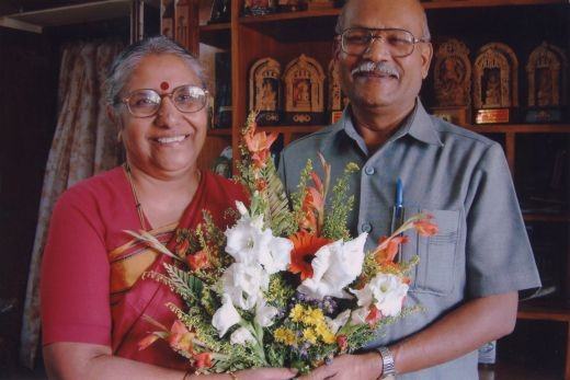 Dr.H.P.Nagarajaih and his scholor wife Dr.Kamala Hampana.the prominent among contemporary scholors