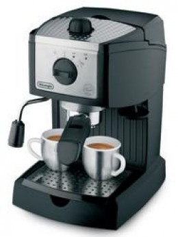DeLongHi EC155 Espresso Maker for home brewed espresso coffee