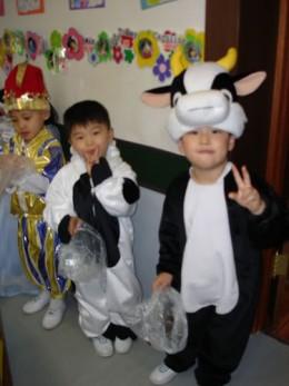 Kindergarten in Halloween