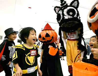 Halloween in China