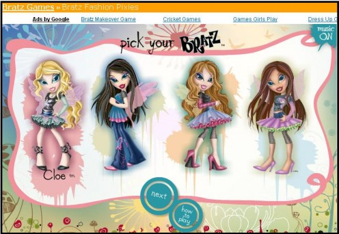 Bratz as Fairy Fashion Models