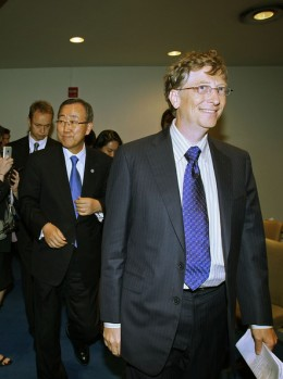 1)  BILL GATES,53 years old, $40 B, U.S. Microsoft
